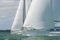 Żeglowanie łodzi jachty Zdjęcia Stock