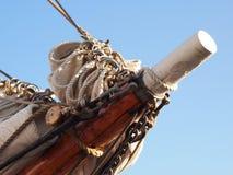 żeglowanie frontowy statek Obraz Royalty Free