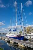 Żeglowanie jachty Zdjęcie Royalty Free