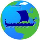 Żeglowanie ship-10 Obrazy Royalty Free