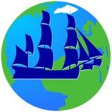 Żeglowanie ship-12 Zdjęcie Stock