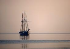 żeglowanie stary statek Zdjęcia Stock