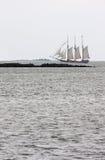 żeglowanie stary statek Obraz Royalty Free