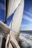 Żeglowanie statek fotografia stock