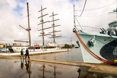 Żeglowanie statek, Le Quy Przywdziewający Zdjęcie Royalty Free