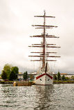 Żeglowanie statek, Le Quy Przywdziewający Zdjęcia Stock