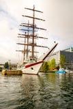 Żeglowanie statek, Le Quy Przywdziewający Zdjęcia Royalty Free