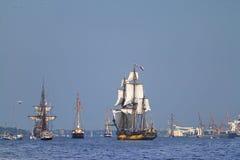 Żeglowanie statki Zdjęcie Royalty Free
