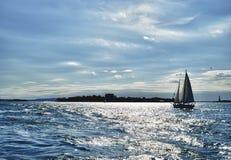 Żeglowanie statku jacht Zdjęcie Royalty Free