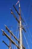 Żeglowanie statku maszt Fotografia Royalty Free