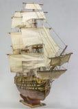 Żeglowanie statku model Obraz Stock