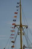 Żeglowanie statku olinowanie Obrazy Royalty Free