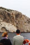 Żeglujący wzdłuż Marseille calanques, Francja Obrazy Stock