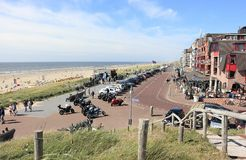 Egmond aan Zee. North Sea, the Netherlands. Egmond aan Zee is a village on the North Sea coast in the Dutch province of North Holland. It is a part of the stock image