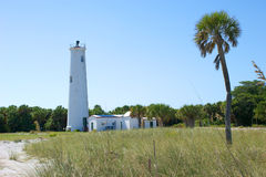 Egmont Key Lighthouse Stock Photo