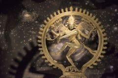 EGMORE, CHENNAI, INDIEN im Januar 2018 Bronzeidol von Lord Nataraja am Regierungs-Museum stockbilder