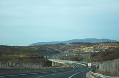 Egnatia motorway Stock Photos