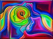 Ego del color Foto de archivo
