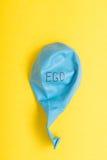 Ego sgonfiato Fotografia Stock Libera da Diritti