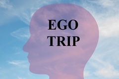 Ego Trip concept Royalty Free Stock Images