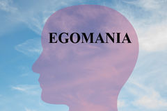 Egomania - personality concept Stock Images