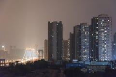 Egongyan bridge at night Stock Images