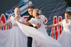 Egor Belov and group Prazdnik Royalty Free Stock Photos