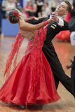 Egorov Vladislav and Chaplinskaya Tatiana Performs Juvenile-1 Standard European Program on National Championship Royalty Free Stock Image