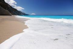Egremni beach Stock Photography