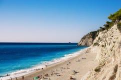 Egremni plaża Obrazy Stock