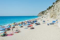 Egremni plaża Obraz Royalty Free