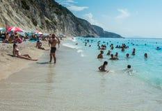 Egremni plaża Zdjęcie Stock