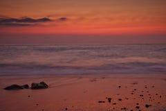Egremni Sonnenuntergang Stockfotos