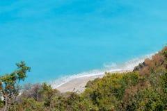 Egremni strand Fotografering för Bildbyråer