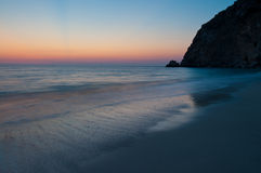 Egremni Sunset Beach Stock Photos
