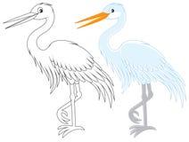 Egret royalty illustrazione gratis