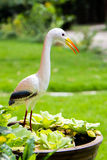 The egret frescoes Royalty Free Stock Photography