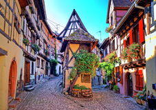 Eguisheim, Alsace, France Royalty Free Stock Photo