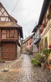 Eguisheim in Alsace Stock Photo