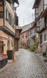 Eguisheim in Alsace Royalty Free Stock Photos