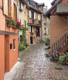 Eguisheim in Alsace Royalty Free Stock Images