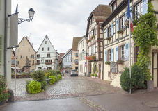 Eguisheim in Alsace Royalty Free Stock Photography