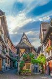 Eguisheim characteristic street