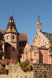 Eguisheim church Royalty Free Stock Image