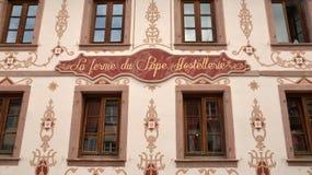 Eguisheim, France - june 19 2015 : picturesque village in summer Stock Image
