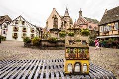 Eguisheim, Frankreich lizenzfreie stockbilder