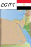 egypt översikt stock illustrationer