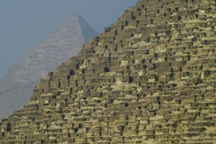 Egypt. Pyramids in Giza smooth Stock Images