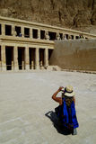 Egypt. Hatshepsut's tomb in a queen's valley Royalty Free Stock Image
