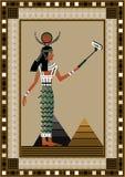 2 egypt royaltyfri illustrationer